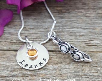 Swim Necklace, Gifts for Swimmers, Swimming Necklace, Swimming Jewelry, Swimmer Gift, Swim Jewelry