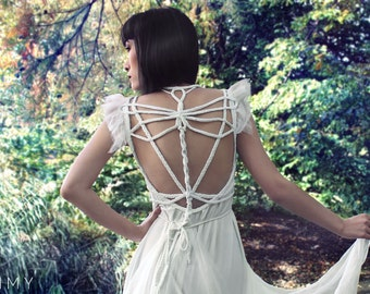 """Handmade (Wedding-) Dress """"Dragonfly No. 1"""", ROHMY Gold Label /// Bridal Gown /// Evening Gown /// Red Carpet /// Eden Collection"""