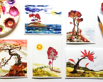 Reserved for Joia - Set of 5 cards