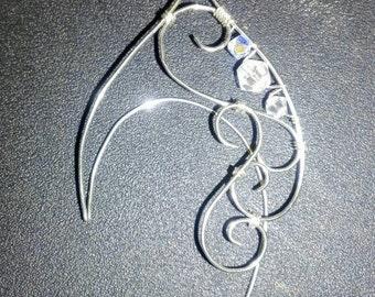 Elven ear cuffs, elf ear cuffs, fairy ear cuffs, fairy ears, wire ear cuffs, wire elven ear cuffs, fairy ear cuffs, ear cuffs