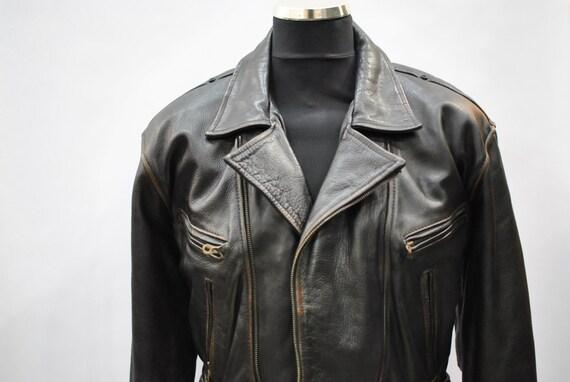 Vintage Akaso Brown Leather Jacket 9trZDJ