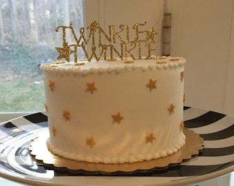 Twinkle Twinkle Cake Topper
