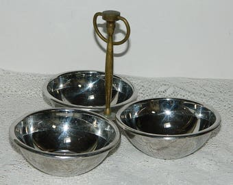 SERVING hors d'oeuvres. french vintage