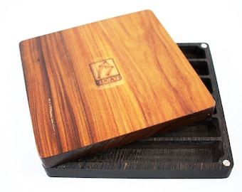 Zucati Dice Base™: Player Core- Wenge and Bolivian Rosewood