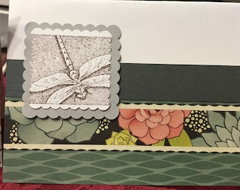 Dragonflies - set of 2 cards