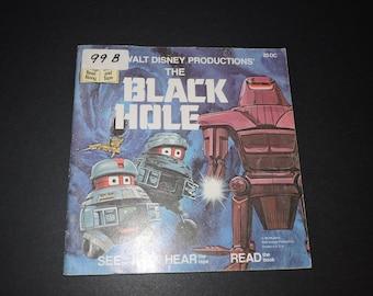 The BLACK HOLE Walt Disney Productions 1980s Children's Book
