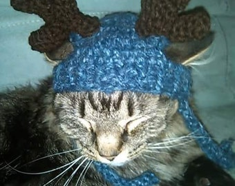 Reindeer Hat For Your Cat Or Dog