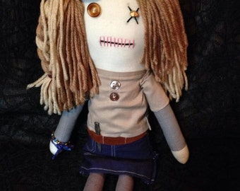 Mika - Inspired by TWD - Creepy n Cute Zombie Doll (D)