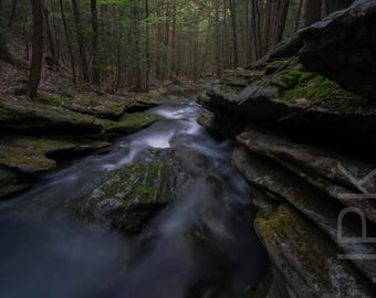 Dean Brook, Shutesbury, Western Massachusetts