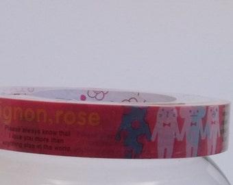 Deco Tape Kawaii Rilakkuma Mignon Rose