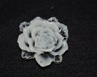 Resin Flower Brooch