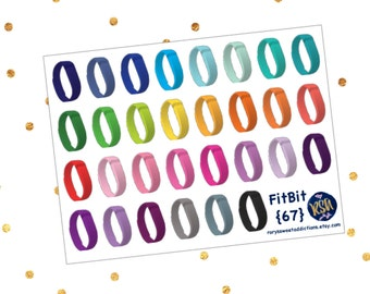 Fitbit Fitness Tracker Stickers {67}
