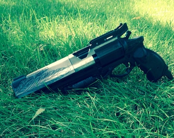 """Hawkmoon Full Size Replica Cosplay Prop Revolver Hand Cannon Gun from Destiny Painted and Finished 16"""""""