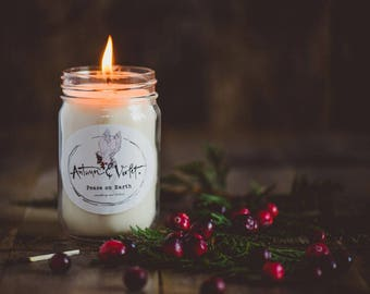 Peace on Earth- 12 oz. Soy Candle