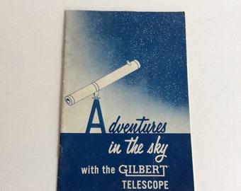 Vintage Booklet, Gilbert Telescope