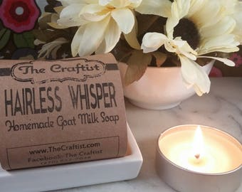 Hairless Whisper Shaving Soap