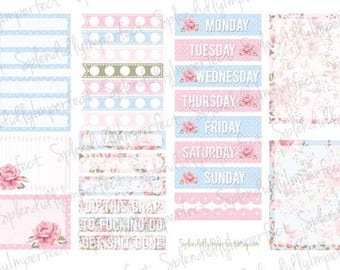 White Space Essentials - Shabby Roses