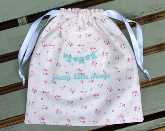 Lingerie Bag: Pretty in Blue
