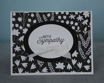 With Sympathy-mourning the loss of a loved one