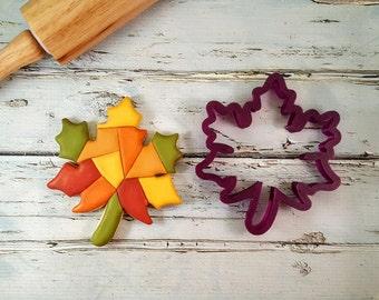 Fall Autumn Oak Leaf Cookie Cutter and Fondant Cutter and Clay Cutter