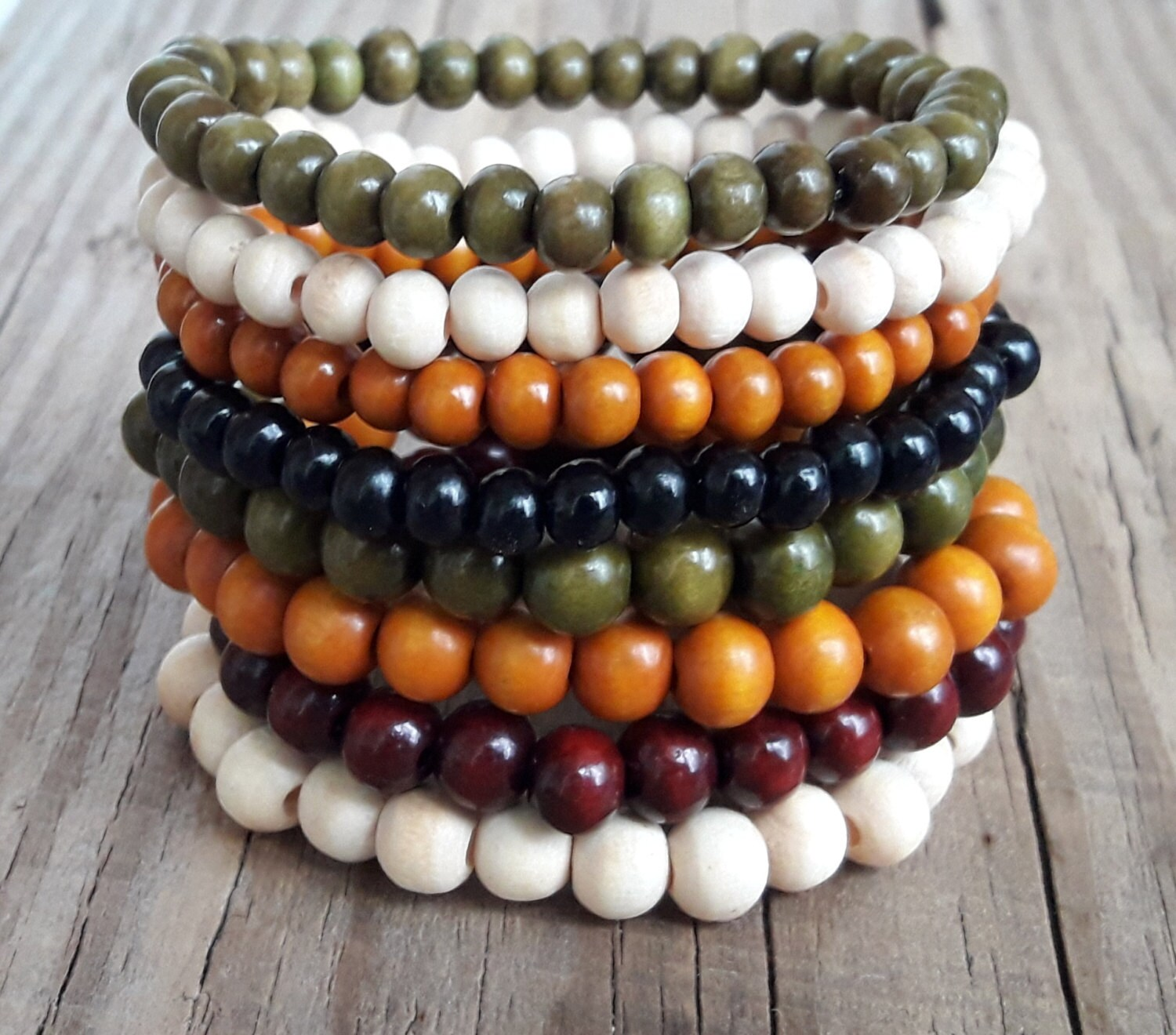 stockist bead black wooden maria bracelet sydney at poepke australia rosa products