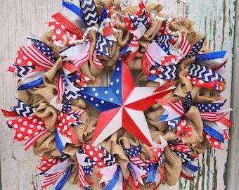 Patriotic wreath,4th of July wreath,summer wreath,summer wreath for front door,Fourth of July wreath,summer door,patriotic door wreath
