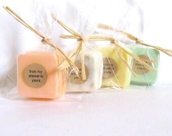 Fall Wedding Soap Favors