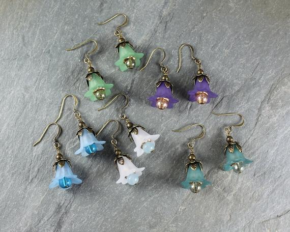 Forest Fairy Flower earrings