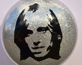 Tom Petty and the Heartbreakers ~ Tom Petty Merry Christmas tree ornament ~ Best gift for mom, dad, uncle, aunt, coworker or music lovers