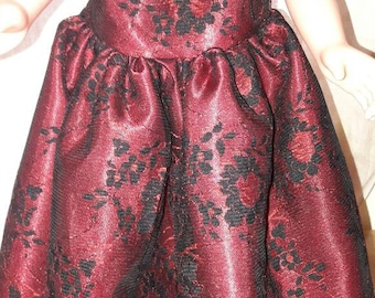 18in doll prom dress/ball gown.
