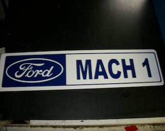 Ford MACH 1 metal sign 24x6 inch