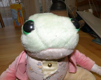 18 inch Beatrix Potter Vintage Frog With Original Outfit By Eden Toys of NY USA