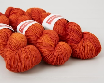 Extra Fine Merino DK hand dyed yarn - Uluru