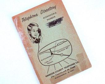 1969 Alexandria Farmer Telephone Directory