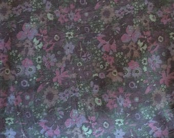 Cotton poplin from Liberty of London, floral print
