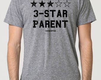 3-star Parent tee