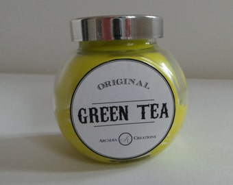 Green Tea Scented Candle.