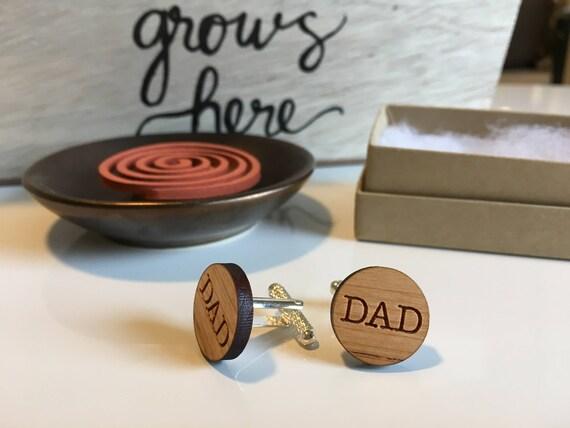 Papa geburtstagsgeschenk personalisierte manschettenkn pfe - Geburtstagsgeschenk 50 papa ...