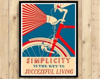 Cycling Print - Bicycle Poster Cycling Bike Poster Cycling Decor Cycling Poster Bicycle Cycling Art
