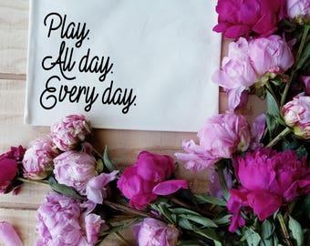 Play Every Day Makeup Cosmetics Bag