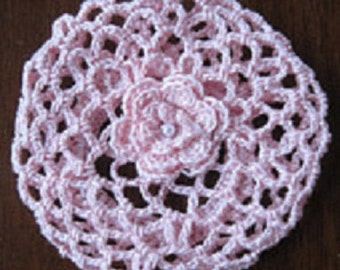 Crochet Bun Cover Snood Ballerina for ballet dance recital or pageant Great Stocking Stuffer Choose size and color