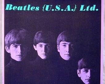 Original 1964 BEATLES Fan Club Tour Book