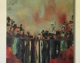 Abstract Painting, Original Art, Acrylic Painting, Canvas Art, Wall Art