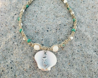 Mermaid Hemp Anklet