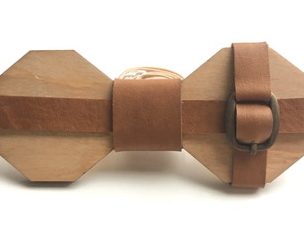 Wooden handmade, unique and exclusive bow tie by OLLY