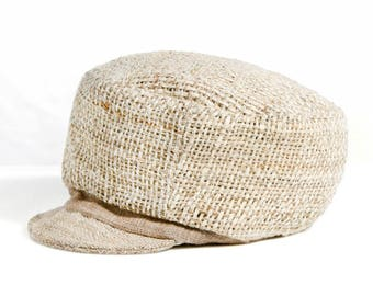 Roots Cap 100% Hemp and nettle