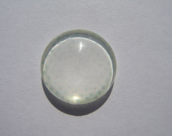Cabochon 18 mm round domed with dots deleted image