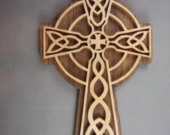 Maple Celtic Cross