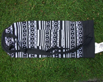 Indian Upcycled Cotton Yoga/Pilates Mat Bag - 2 colours available