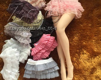 Zoe doll TBLeague phicen tight skirt for jiaou doll verycool playtoys obitsu  fr skirt barbie skirt  [no stain]